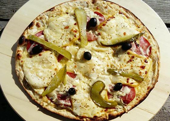 Pizza de Novembre - La Raclette